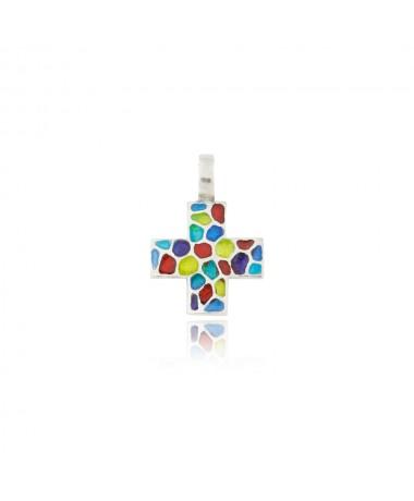 Krzyżyk srebrny model 252