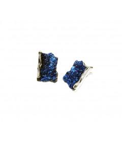 Kolczyki Intenzza małe Electric Blue