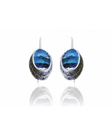Kolczyki Sinera Formentera Blue