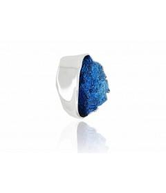 Zawieszka GALA Electric Blue srebro